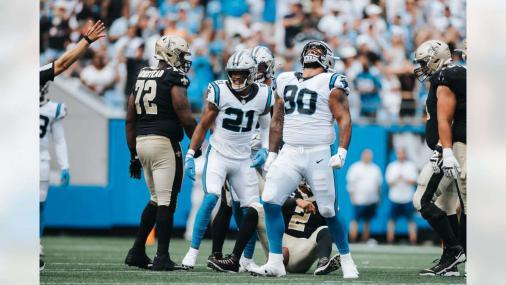 Defesa domina e Carolina Panthers derrota os Saints pela semana 2 da NFL