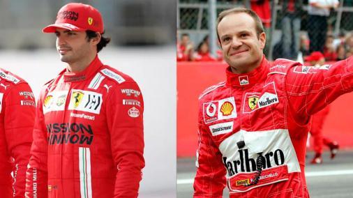 Filho rebate piloto da Ferrari que disse que não quer ser 'um Barrichelo'; Web também defende brasileiro
