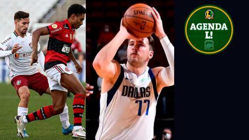 Fla-Flu no Brasileirão, NBA, futebol europeu... Saiba onde assistir aos eventos esportivos de sábado