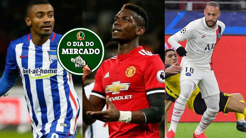 O dia do mercado: Botafogo se aproxima de Kalou, Pogba desejo de Zidane, PSG oferece Neymar a gigante inglês… – LANCE! – LANCE!