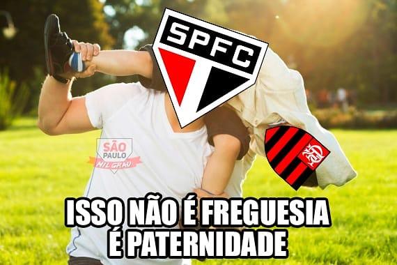 Flamengo vira piada após goleada sofrida para o São Paulo ...
