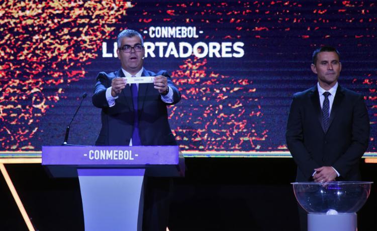 Flamengo ser� cabe�a de chave na Libertadores